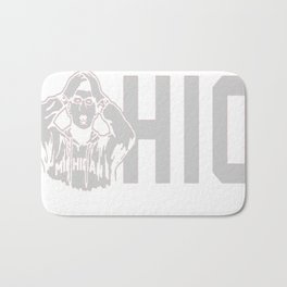 Ohio State Michigan Coach Rivalry Bath Mat