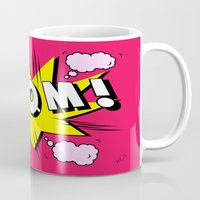 comics Mugs featuring comics by mark ashkenazi