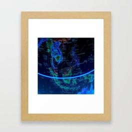 Southeast Asia Framed Art Print