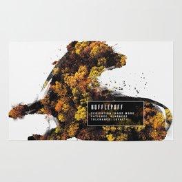 Hufflepuff Nature Rug