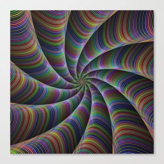 Infinite color fun Canvas Print