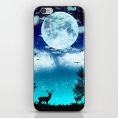 Dreamy Night iPhone & iPod Skin