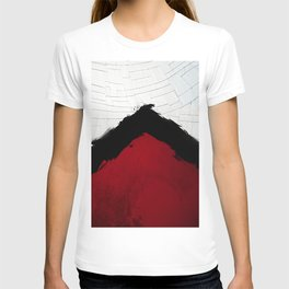BLOOD RED RIBBON T-shirt