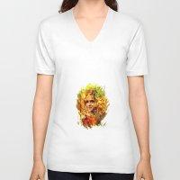 emma watson V-neck T-shirts featuring Emma Watson by ururuty