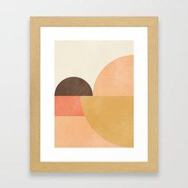 geometric abstract 21 Framed Art Print