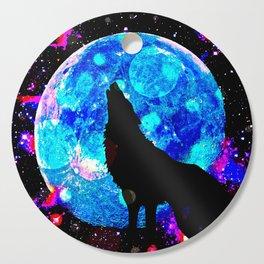 Wolf #1 Cutting Board