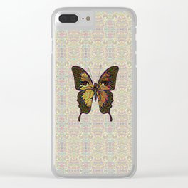 Butterfly Variation 03 Clear iPhone Case