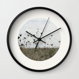 Circular Landscape Field Wall Clock