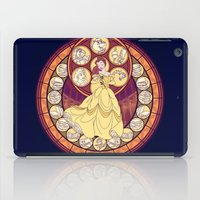 belle iPad Cases featuring Belle by NicoleGrahamART