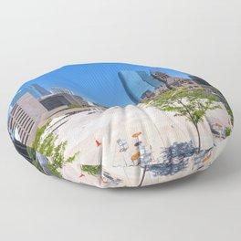 TORONTO 09 Floor Pillow