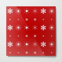 Christmas Paper Background Metal Print