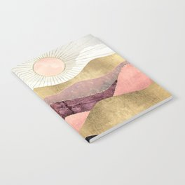 Blush Sun Notebook