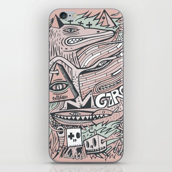 Hirsute iPhone & iPod Skin