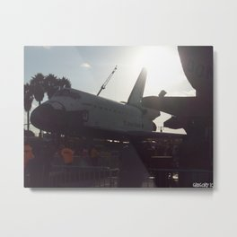 SPACE SHUTTLE ENDEAVOR  Metal Print