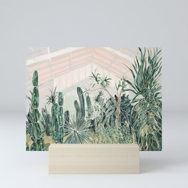Cactus garden (2) Mini Art Print