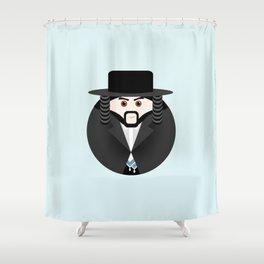 NEW YORK STORIES: GARGOYLES OF NY CHARACTERS #7 SCHWARZT Shower Curtain