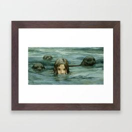 The Selkie Framed Art Print