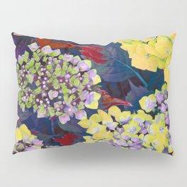 Hydrangea Yellow Pillow Sham