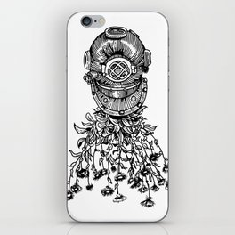 Daisy Diver iPhone Skin