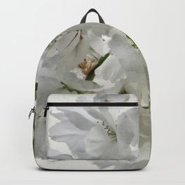 SPRING BLOSSOMS - IN WHITE - IN MEMORY OF MACKENZIE Backpack