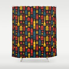 Drinks on the House Shower Curtain