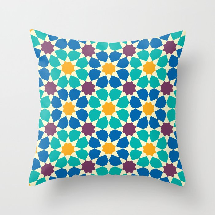 Geometric Throw Pillow Cover Mosaic