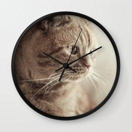 my cat Wall Clock