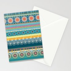 Blue Streaks Stationery Cards
