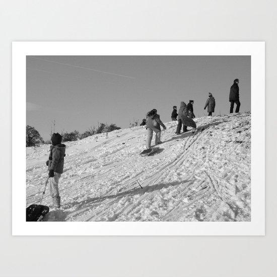 On the Hill II #11 Art Print