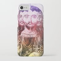 christ iPhone & iPod Cases featuring Thrice Christ by EclecticArtistACS