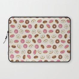 ALL the donuts! Rainbow on Cream Laptop Sleeve