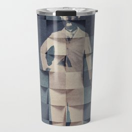 CHAPLIN'S BLUE PRINT #society6 Travel Mug
