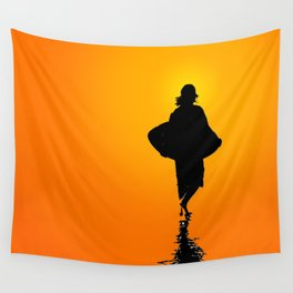 Sunset Skim Wall Tapestry