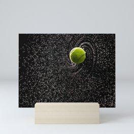 Spin Serve     Tennis Ball Mini Art Print
