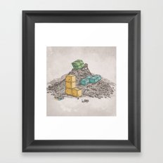 Game Legends Framed Art Print