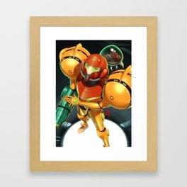 Primed Framed Art Print