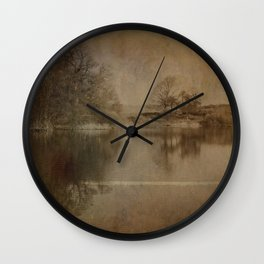 Throxenby Mere Wall Clock