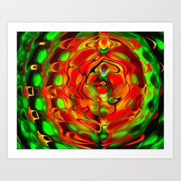 Fusion (Large Canvas) Art Print