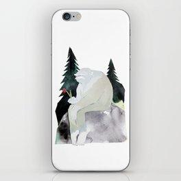 Sad Bigfoot iPhone Skin