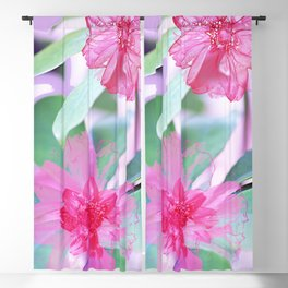 Floral Abstract 105 Blackout Curtain