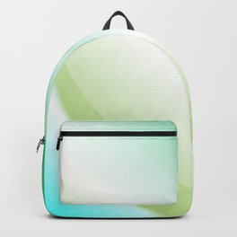 Abstract Green Background Backpack