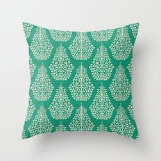 SPIRIT jade cream Throw Pillow