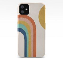 The Sun and a Rainbow iPhone Case