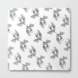 Crunchy Leaf Metal Print