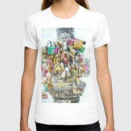 Paris Love Locks T-shirt