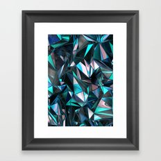 Dirty Poly Framed Art Print