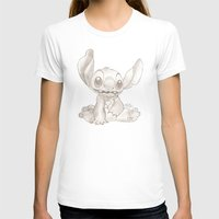 lilo and stitch T-shirts featuring Stitch  by Nic Moore