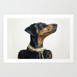 Audrey - Dalmation Dog Art Print