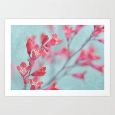coral bells Art Print