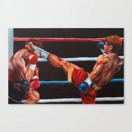 Yuya and Drago Canvas Print